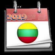 Lithuanian Calendar 2019