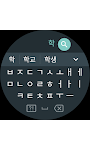 screenshot of Google Korean Input