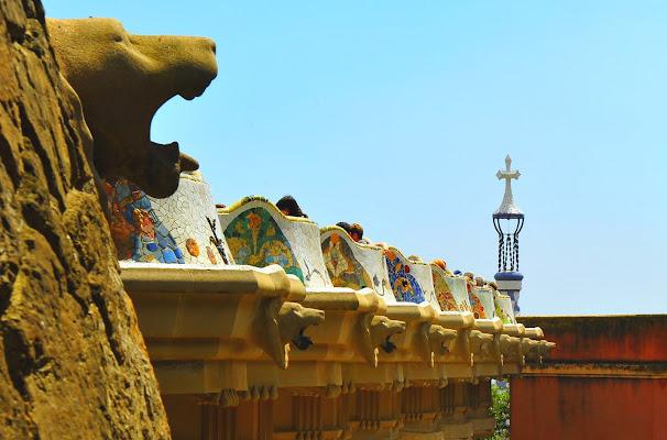 I leoni del Parco Guell di Eric_Draven
