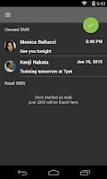 Screenshot of Reset Unread Sms