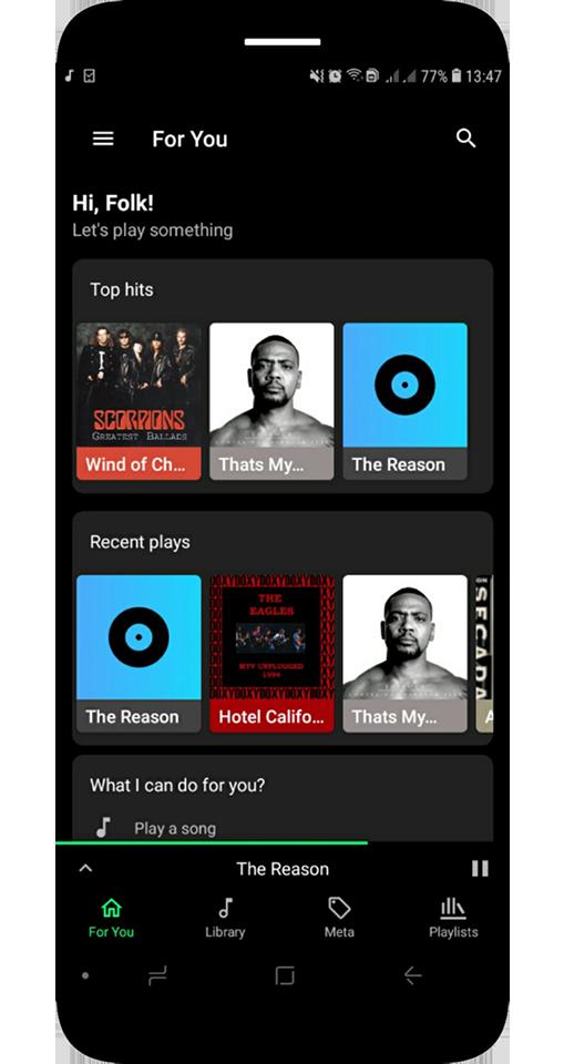 Prime Music - Audio Player Pro - No Ads Screenshot 1