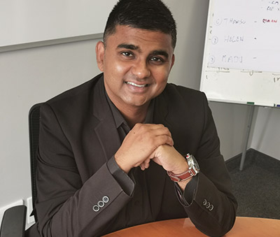Greg Naidoo, Head of Talent Acquisition at Inspired Testing.