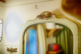 Photo: Antique mirror.