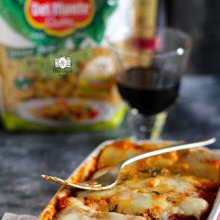 Keema Lasagna Cannelloni.