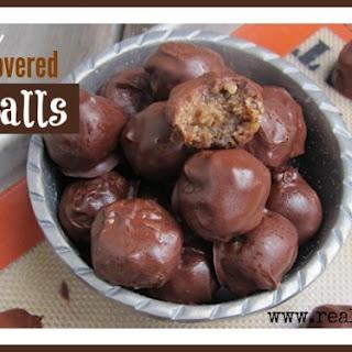 Healthy Chocolate Covered Amazeballs