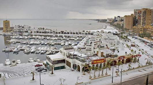 Hoy hace 15 años que la nieve llegó a las playas almerienses