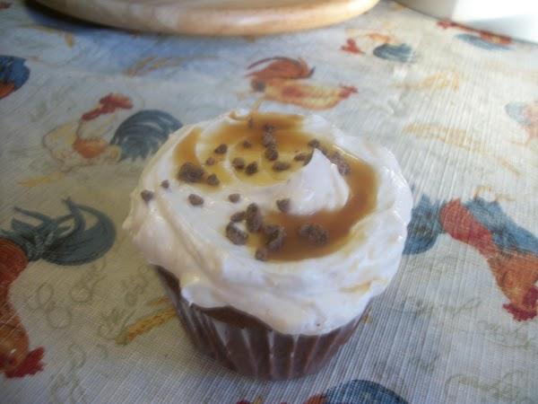 Mocha-caramel Cappuccino Cupcakes Recipe