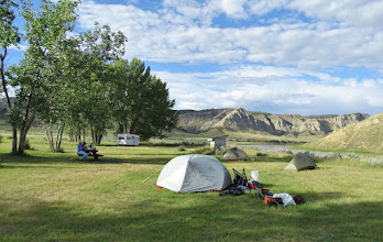 Photo: Upper camp