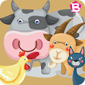 Animal Sounds: Baby Farm Game icon