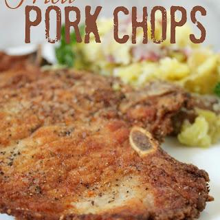 Perfect Fried Pork Chops Recipe