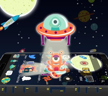 Little Monster Launcher Theme - náhled