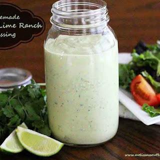 Avocado Lime Ranch Dressing Recipes.