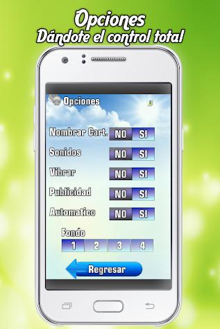 Baraja de Lotería Mexicana Screenshot