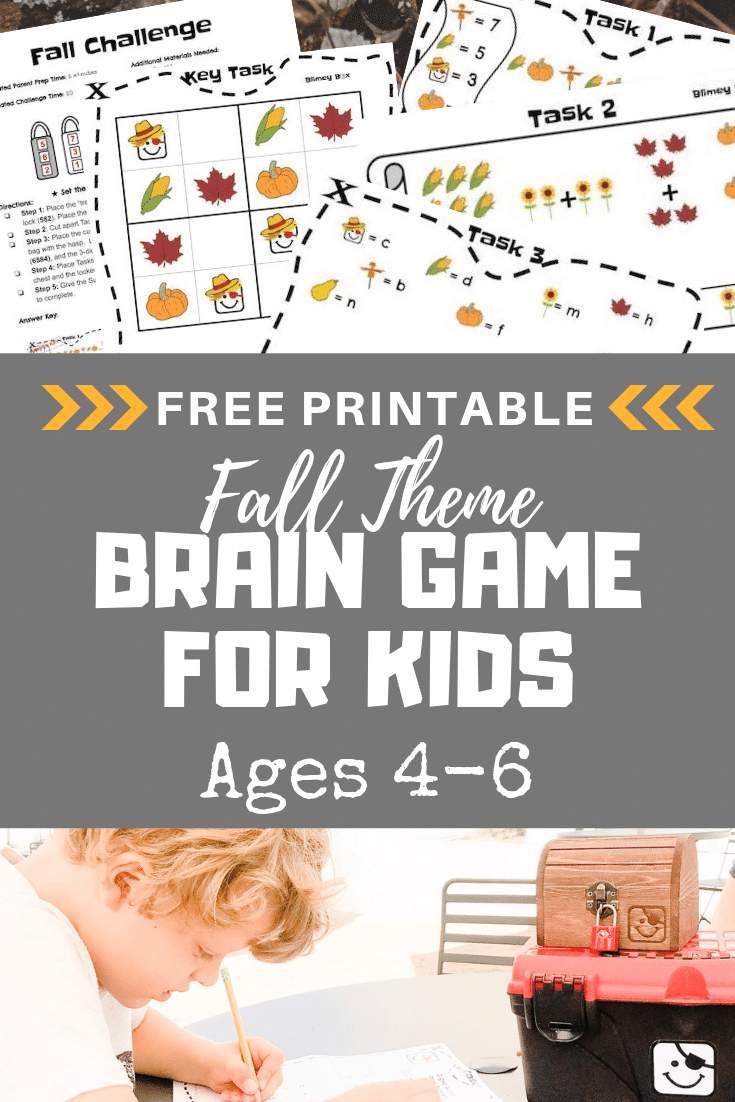 CLICK TO ACCESS THE FREE FALL THEME BRAIN GAME