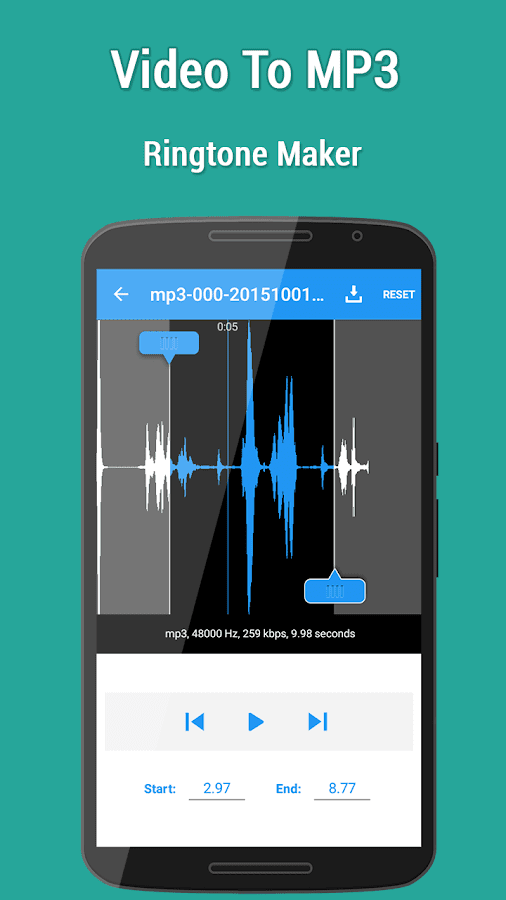 Video to MP3- screenshot