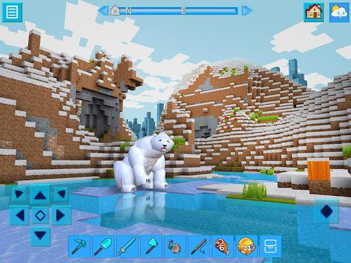 AdventureCraft: 3D Block Building & Survival Craft  screenshots 4