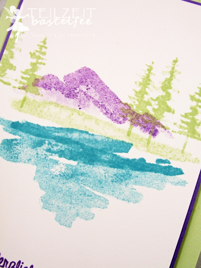 Stampin' Up! - Inkspire_me, Color Challenge, Waterfront, Am Ufer