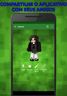 Baixar Skins Populares Para Minecraft PE Para Android - Descargar skins para minecraft pe android gratis