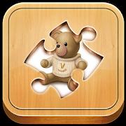 Kid Jigsaw: baby bear