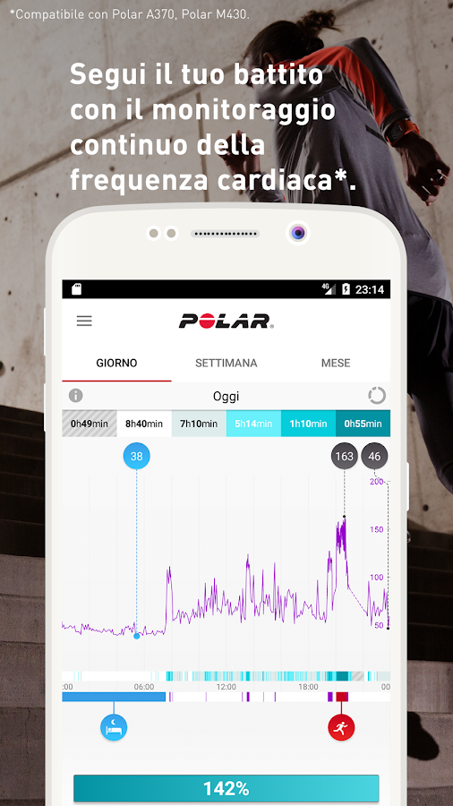 Polar Flow - Sincronizzazione e analisi- screenshot