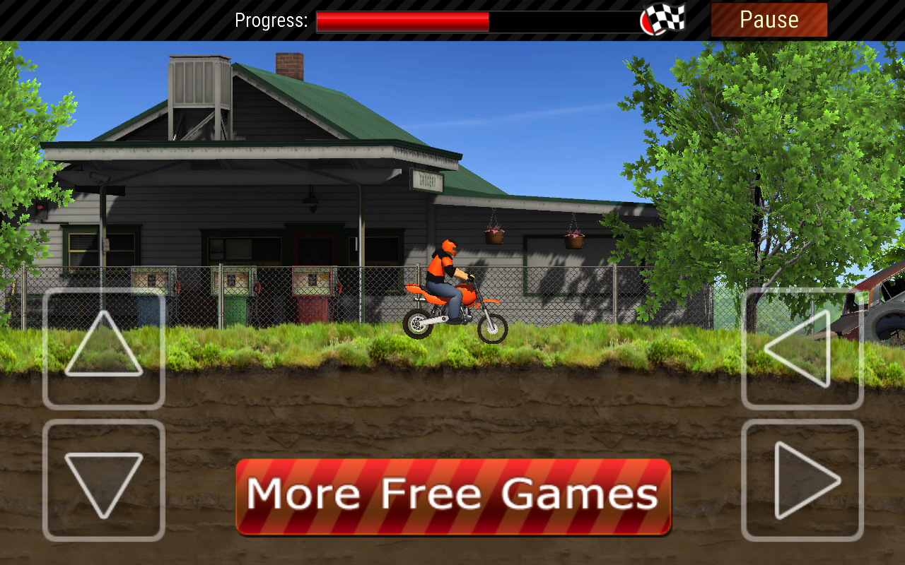 Desert Motocross Free- screenshot