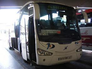 Photo: Mindenhová ilyen kényelmes buszok mennek. Nice comfortable buses everywhere.