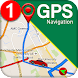 GPS ナビゲーション & 地図 方向 - ルート ファインダ