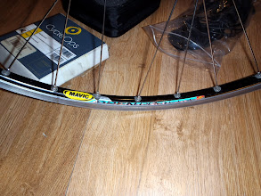 Photo: Mavic OpenPro rim.
