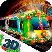 Christmas Train Driving Sim