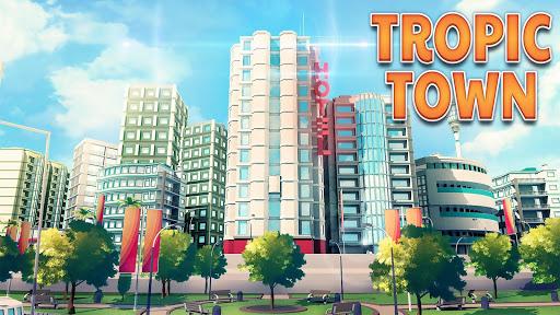 Bourg tropical (Town Building Games: Construction) captures d'u00e9cran 1