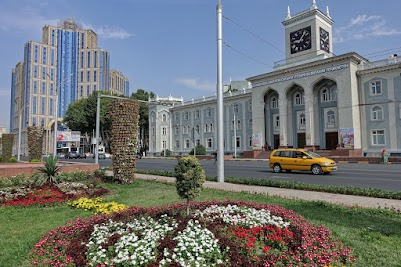 University of Art and Design in Dushanbe.