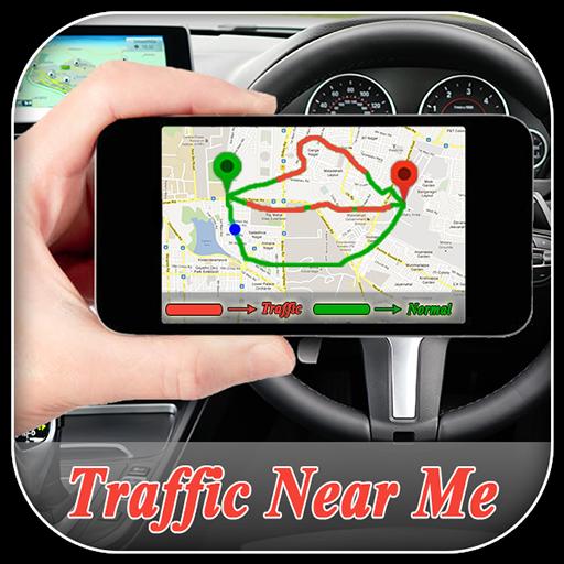 Traffic Near Me : GPS Navigation Maps Traffic - אפליקציות ב