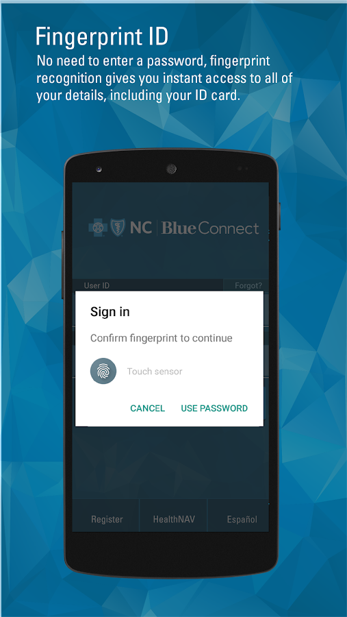 Blue Connect Mobile NC- screenshot
