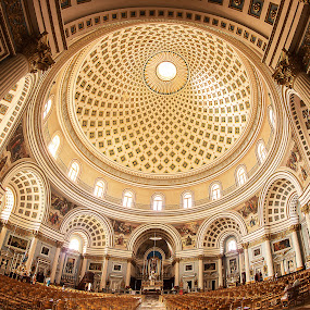 Mosta Rotunda, Malta. by Simon Page - Buildings & Architecture Places of Worship