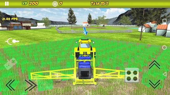 Combine Tractor Farm Sim - náhled