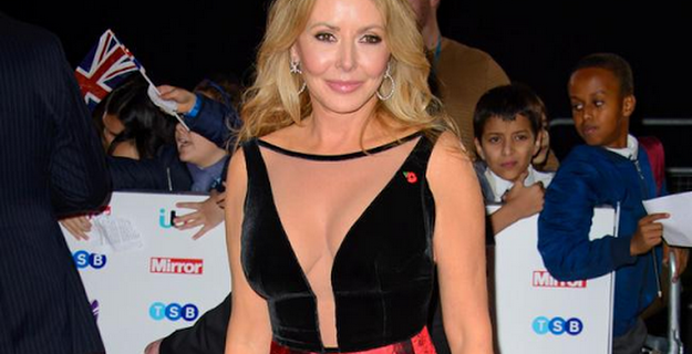 Carol Vorderman will still do solo flight