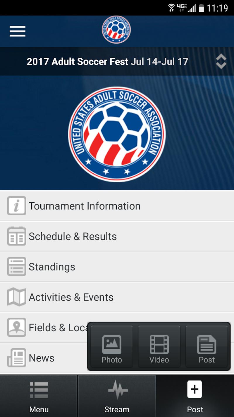 Скриншот USASA National Championship
