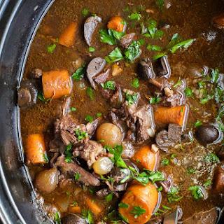 A Crock Beef Bourguignon Crock Pot Recipes