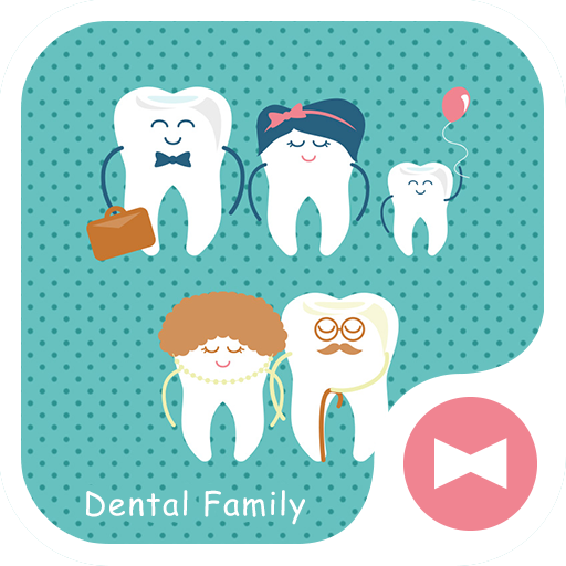Cute Wallpaper Dental Family Theme Icon