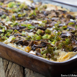 Vegan Walnut Mushroom Tart