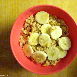 Creamy Coconut & Banana Rice Krispies
