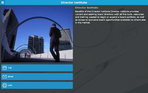 Director Institute - náhled