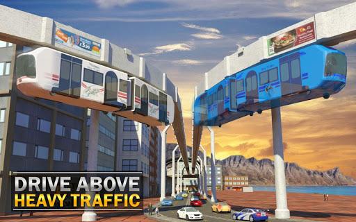 Elevated Train Driving Simulator: Sky Tram Driver apktram screenshots 11