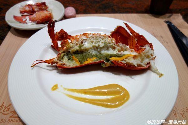 明水然鐵板燒 (慶城店) ~ $1390元CP值高的活波士頓龍蝦海陸套餐