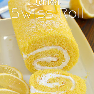 Lemon Swiss Roll.