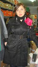 Photo: Роскошный пион из алого шелка ...любимый размер Анжелики Варум..и Олечки !