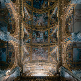 PARROCCHIA DEI SANTI VITTORE E CARLO by Goran Dzh - Buildings & Architecture Other Interior ( nikon, italia, mood, church, genoa, cathed, tamron, italy, interior )