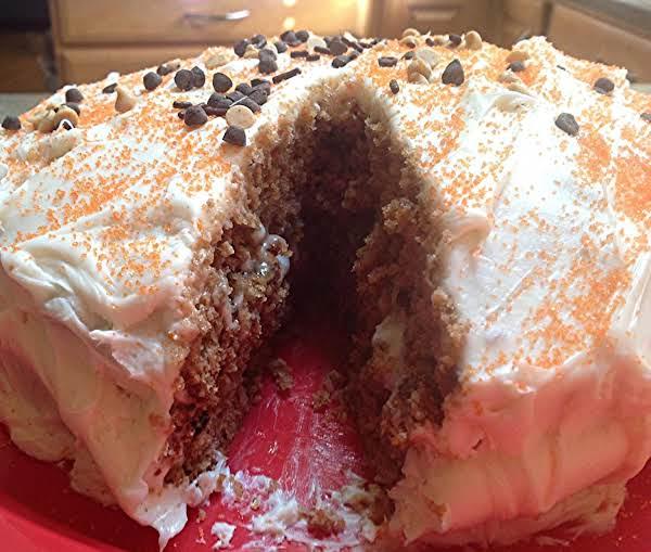 Carrot Cake With Raisins & Walnuts-semi Homemade