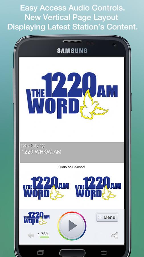1220 WHKW-AM - screenshot
