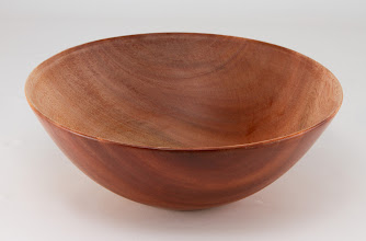 "Photo: Elliot Schantz 8"" x 3"" bowl [cherry]"